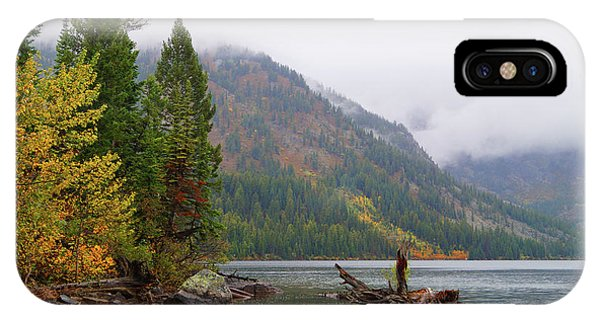 Yellowstone Lake Fall IPhone Case