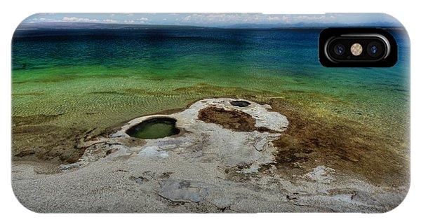 Yellowstone Lake IPhone Case