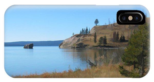 Yellowstone Lake Se IPhone Case