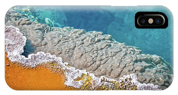 Yellowstone National Park iPhone Case - Yellowstone Pool by Delphimages Photo Creations