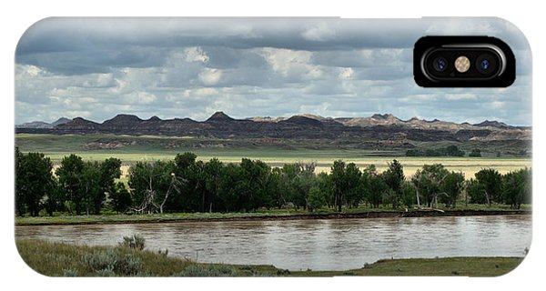 Yellowstone River After The Storm IPhone Case