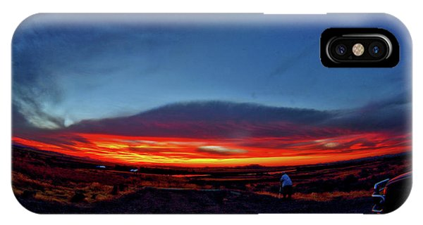 Yellowstone Sunset IPhone Case