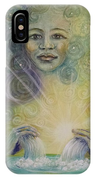 Yemaya - Water Goddess IPhone Case