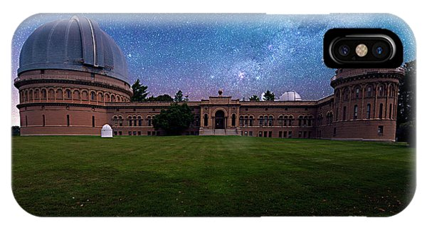 IPhone Case featuring the photograph Yerkes Observatory Williams Bay by Tom Jelen