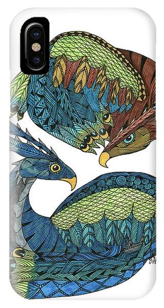 Yin Yang Dragons IPhone Case