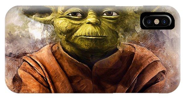 Yoda Art IPhone Case