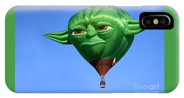 Yoda In The Sky IPhone Case