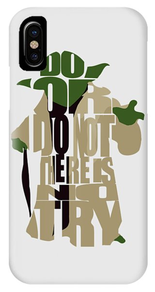 Movie iPhone Case - Yoda - Star Wars by Inspirowl Design