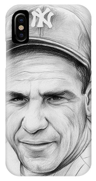 Yogi Berra IPhone Case