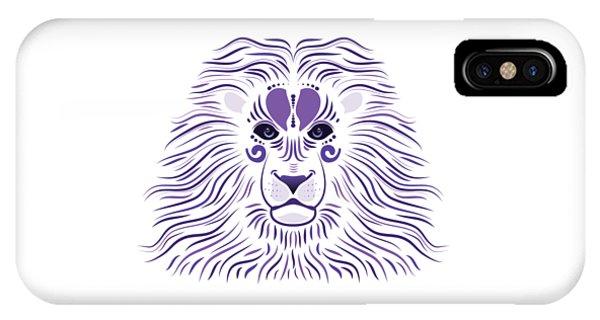 Yoni The Lion - Light IPhone Case