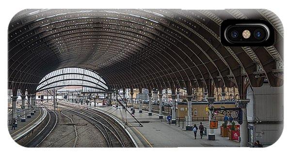 York Rail  Station  Northbound IPhone Case