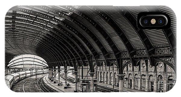 York Railway Station IPhone Case