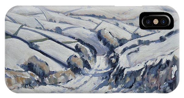 iPhone Case - Yorkshire In The Snow by Nop Briex