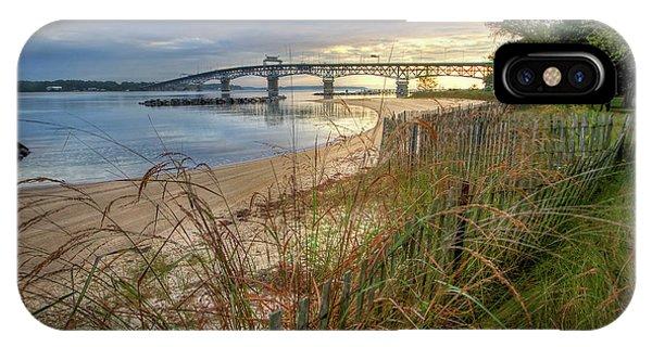 Yorktown Beach Sunrise Virginia IPhone Case