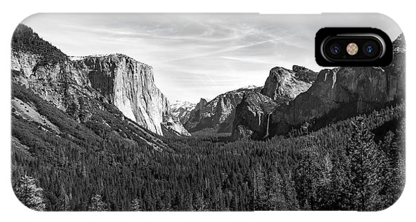 Yosemite B/w IPhone Case