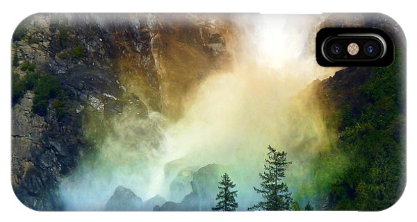 Yosemite Bridalveil Fall Rainbow IPhone Case