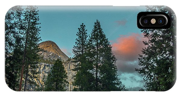Yosemite Campside Evening IPhone Case