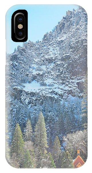 Yosemite Chapel IPhone Case