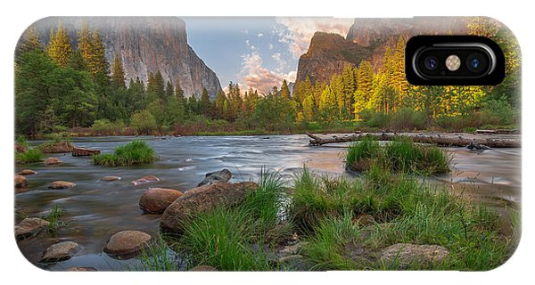 Yosemite Evening IPhone Case