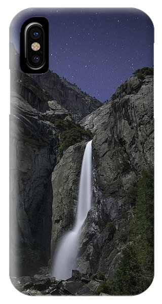 Yosemite Falls At Night IPhone Case
