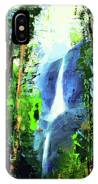 Bridal iPhone Case - Yosemite Falls by Elise Palmigiani