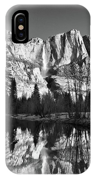 Yosemite Falls Reflections Phone Case by Stephen  Vecchiotti