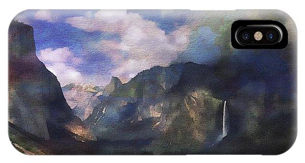 Yosemite H2o Color IPhone Case