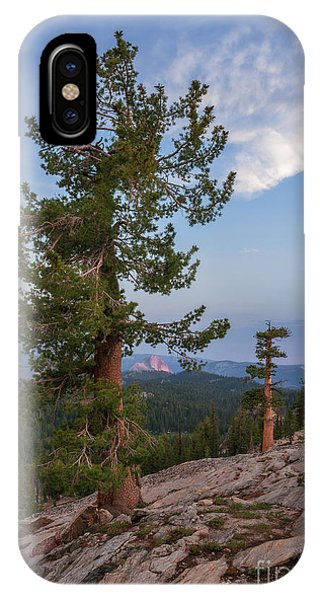 IPhone Case featuring the photograph Half Dome From May Lake by Sharon Seaward