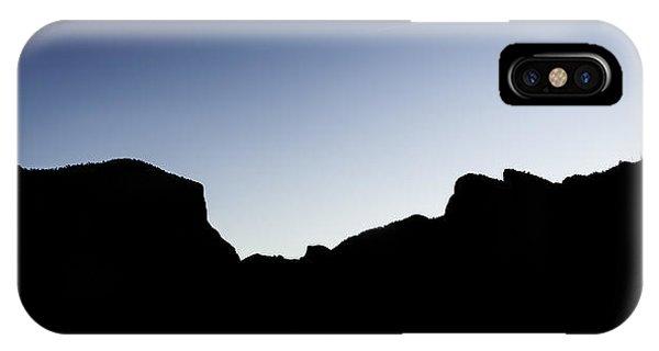 Yosemite In Silhouette IPhone Case