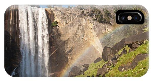 Yosemite Mist Trail Rainbow IPhone Case