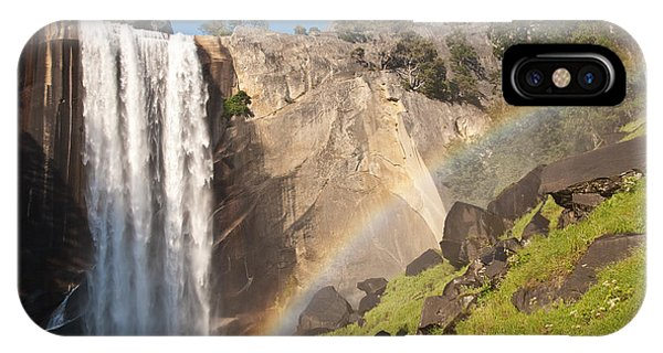 Yosemite Mist Trail Rainbow IPhone Case