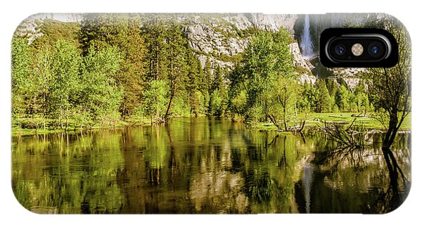 Yosemite Reflections On The Merced River IPhone Case