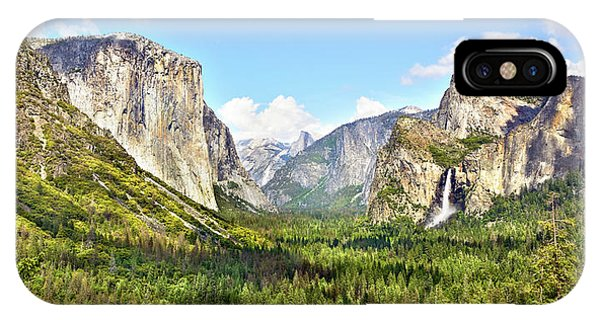 Yosemite Tunnel View Afternoon IPhone Case