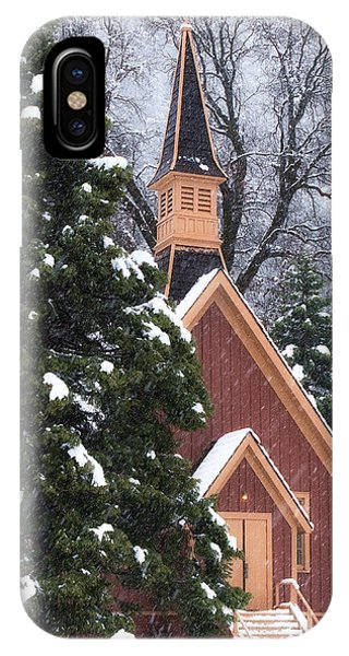 Yosemite Valley Chapel  IPhone Case