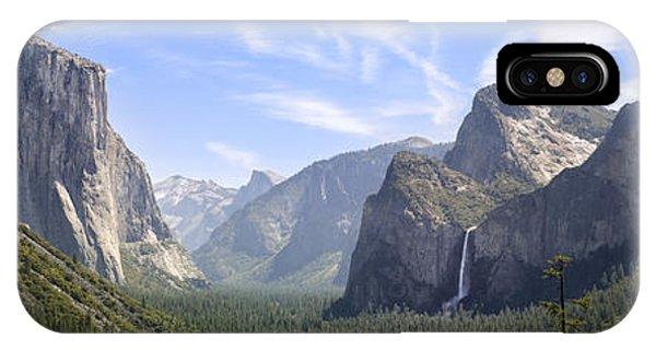 Dome iPhone Case - Yosemite Valley by Francesco Emanuele Carucci