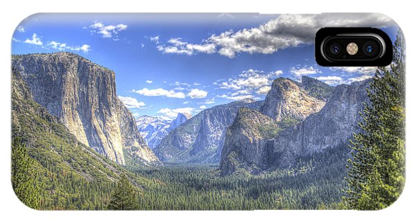 iPhone Case - Yosemite Valley Hdr by G Wigler