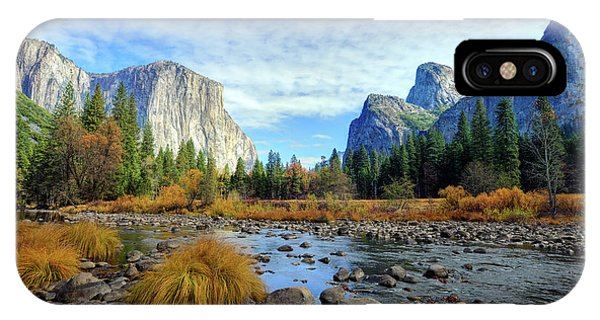Yosemite Valley View IPhone Case