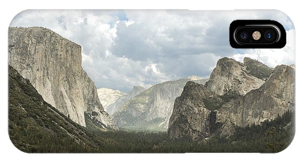 Yosemite Valley Yosemite National Park IPhone Case