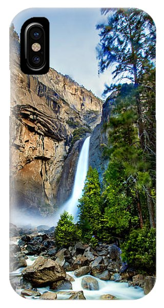Yosemite Waterfall IPhone Case