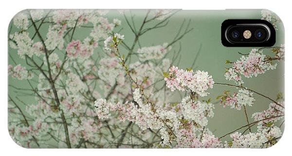 Yoshino Cherries Jade IPhone Case
