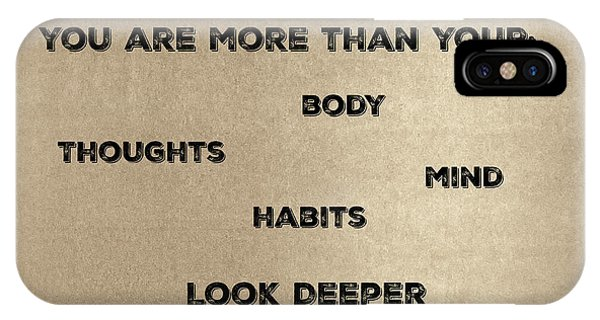 You Are More #2 IPhone Case