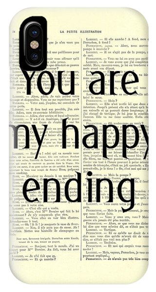 Cupid iPhone Case - You Are My Happy Ending by Madame Memento