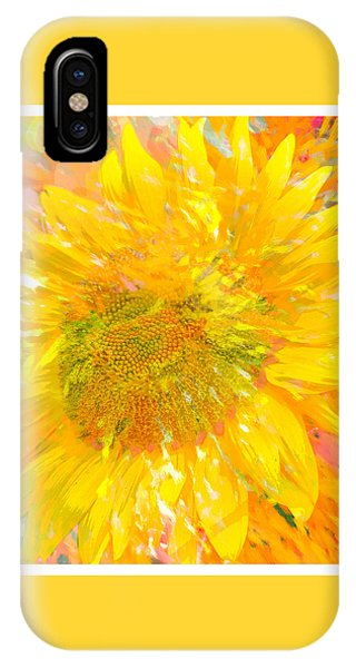 Sunflower Sunshine IPhone Case