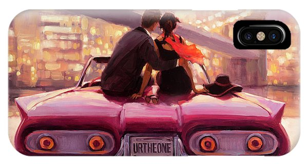 Lavender iPhone Case - You Are The One by Steve Henderson