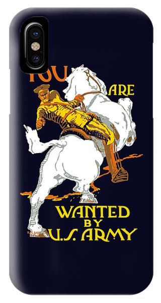 You Are Wanted By Us Army IPhone Case