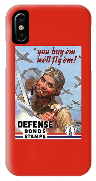 World War Two iPhone Case - You Buy 'em We'll Fly 'em by War Is Hell Store