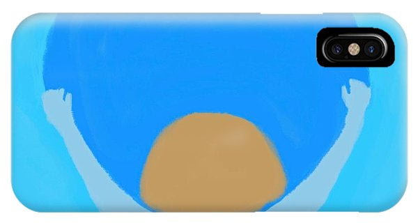 The Art Of Gandy iPhone Case - You Can Carry The Moon by Joan Ellen Gandy