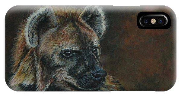 You Don't See Me Laughing......hyena IPhone Case