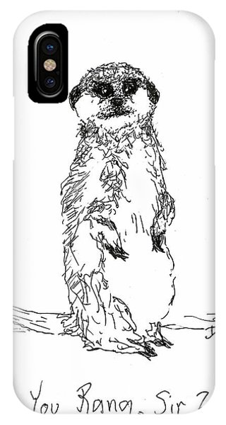 You Rang, Sir? IPhone Case