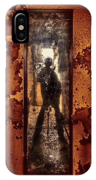 Zombies iPhone Case - You Shot A Hole In My Soul by Evelina Kremsdorf